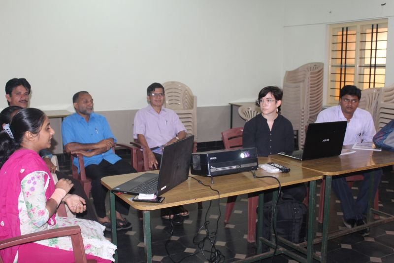 <b>Visit of Faculty from University of Pennsylvania, USA</b>