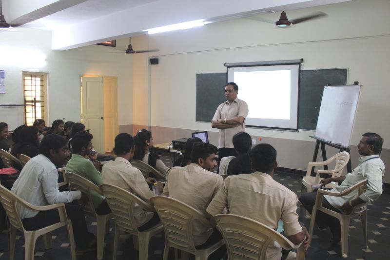 <b>Community Development � An orientation to students of Belthangady</b>