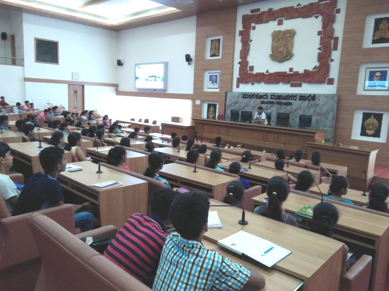 <b>Summer vacation Youth Empowerment Training to students of 8th to II PUC</b>