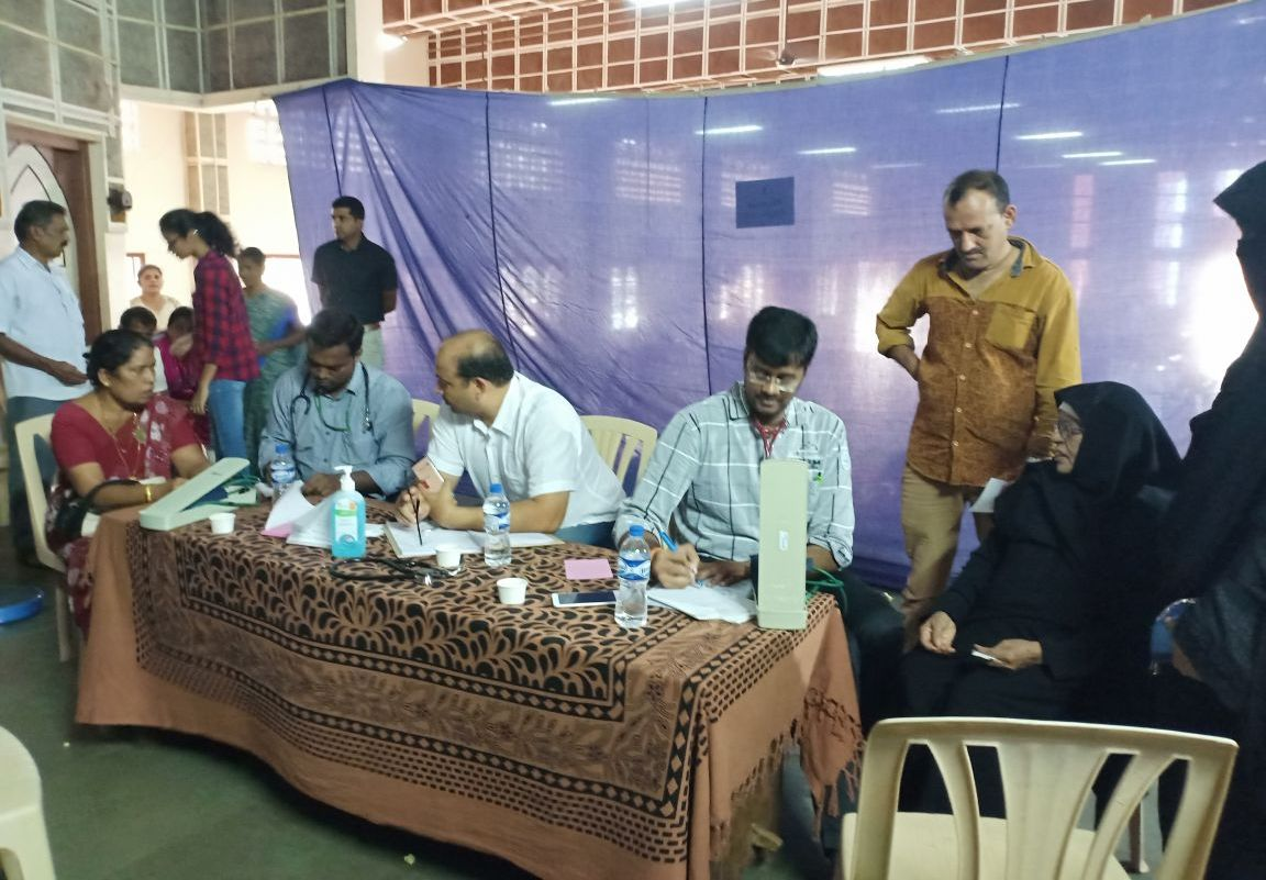 <b>CODP Mangaluru organizes Free Health Camp at Puttur</b>